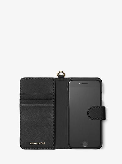 ELECTRONIC LEATHER フォリオ スマホケース iPhone 7