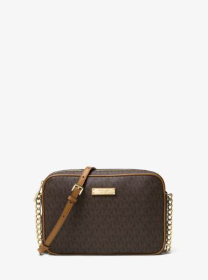 jet set travel logo crossbody michael kors rh michaelkors com