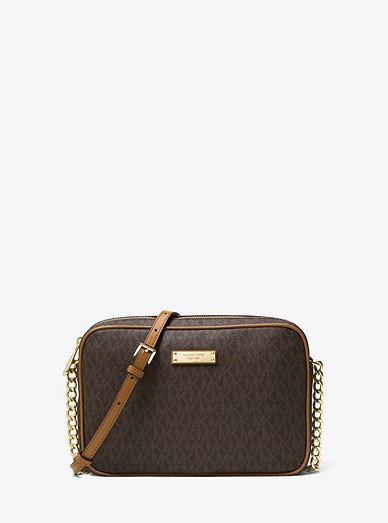 7b69f18e69634c Jet Set Travel Logo Crossbody Bag | Michael Kors