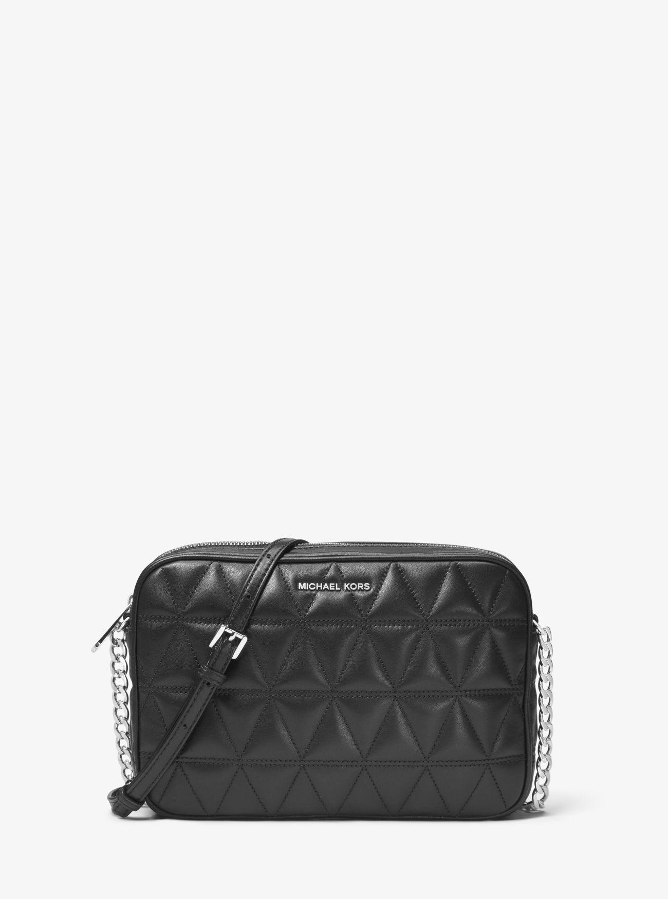 Jet Set Travel Quilted-leather Crossbody   Michael Kors : michael kors black quilted handbag - Adamdwight.com