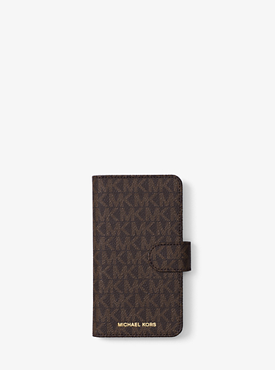 Logo Folio Case For iPhone X