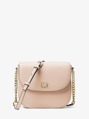 79255daa9a7f Mott Pebbled Leather Dome Crossbody Bag | Michael Kors