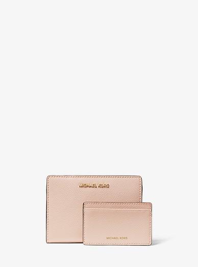 9392cd847106 Medium Saffiano Leather Slim Wallet | Michael Kors