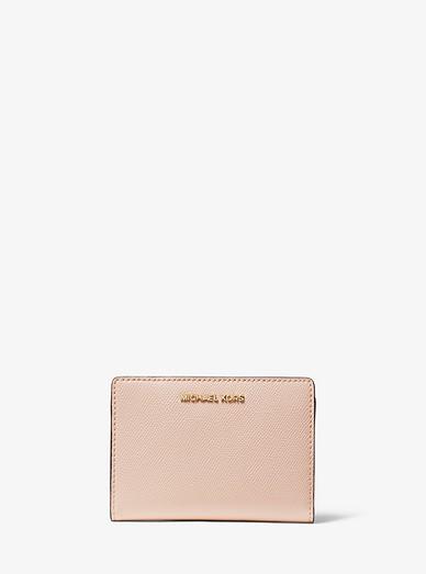 e35b774930e3 Medium Saffiano Leather Slim Wallet. Medium Saffiano Leather Slim Wallet. MICHAEL  Michael Kors