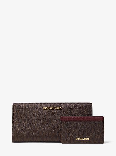designer wallets wristlets card cases on sale sale michael kors rh michaelkors com