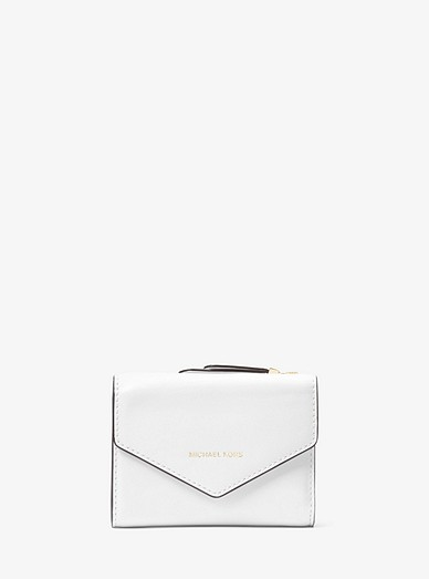 9295c504b4aa53 Small Leather Envelope Wallet   Michael Kors