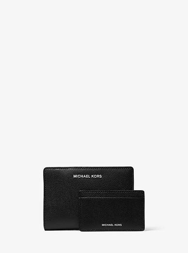 d135efe59f98 Medium Saffiano Leather Slim Wallet | Michael Kors
