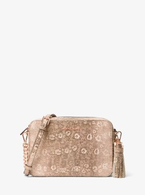 6dbda046a38a We're sorry, 'Ginny Medium Lizard-Embossed Leather Crossbody Bag' is no  longer available