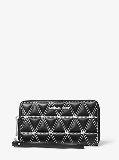 designer wallets card cases phone cases women s wallets rh michaelkors com