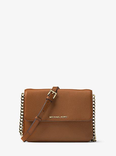 Whitney Large Leather Convertible Shoulder Bag | Michael Kors