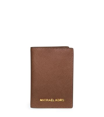 6ee2413248fa Jet Set Travel Saffiano Leather Passport Case | Michael Kors