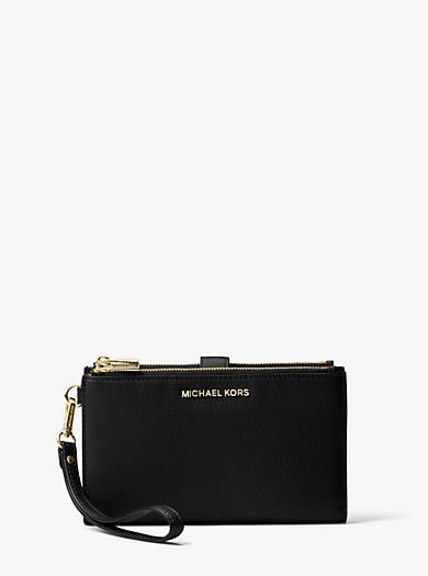 Portefeuille Adele en cuir pour smartphone. michael michael kors ... b53b373c765