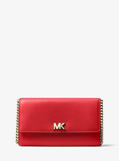 207cd4f81d72 Mott Leather Clutch   Michael Kors