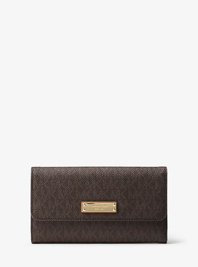 77009312831fb5 Logo Tri-fold Wallet | Michael Kors