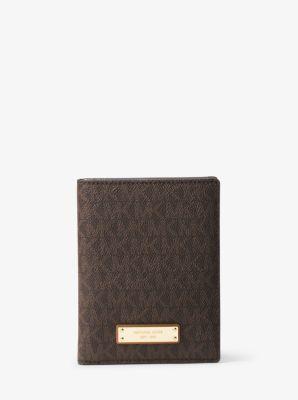 9cb0b6a54ab Travel Logo Passport Wallet | Michael Kors
