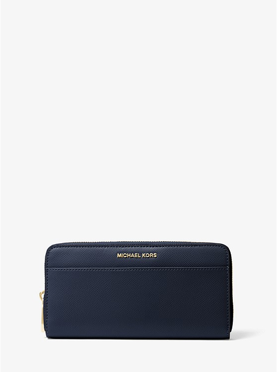 9cbf64887a67 Saffiano Leather Continental Wallet | Michael Kors