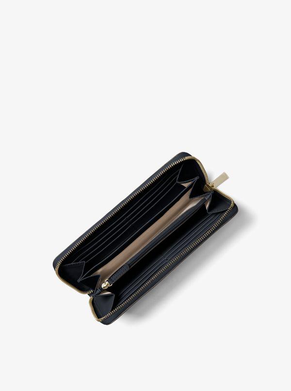 Michael Kors - Portefeuille continental Jet Set en cuir saffiano - 1