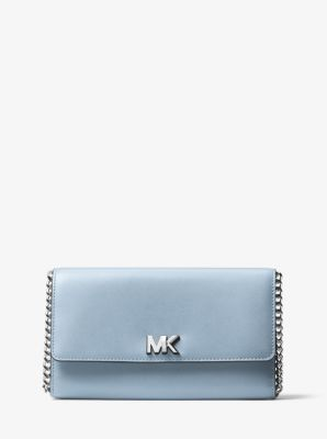 69088c1c3f6c4c Mott Leather Clutch | Michael Kors