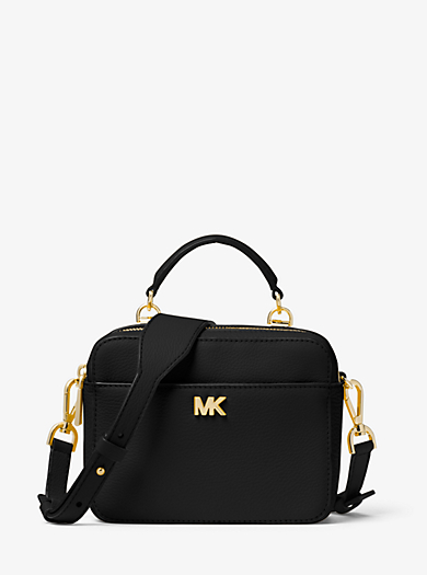 e4c4b5cbae8b Mott Mini Pebbled Leather Crossbody Bag. Find a Store. Sign Up for updates  from Michael Kors