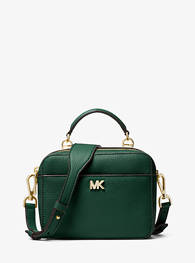 Mott Mini Pebbled Leather Crossbody