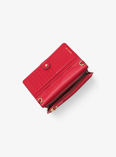 02241716d109 Pebbled Leather Convertible Crossbody Bag | Michael Kors