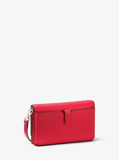 9a2b62c3f548 Pebbled Leather Convertible Crossbody Bag | Michael Kors