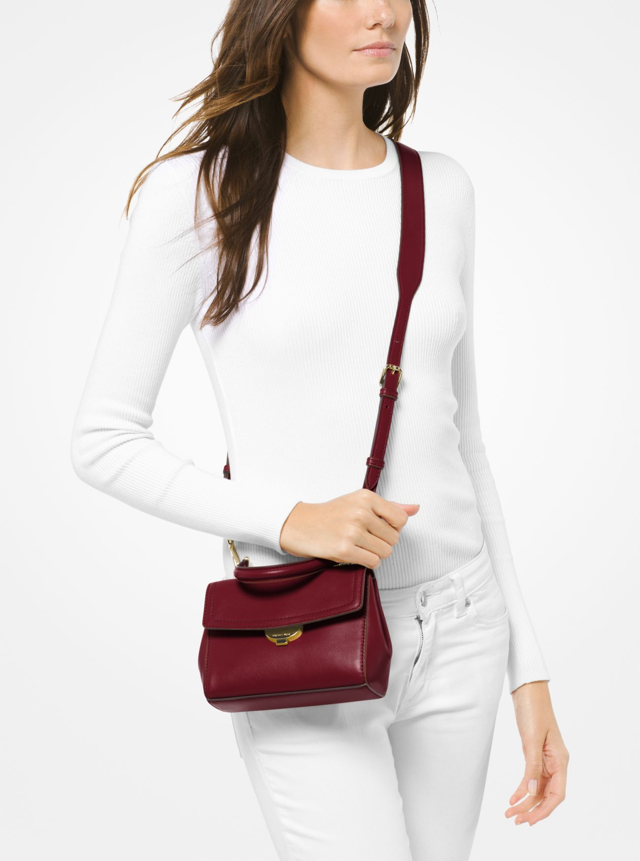 efefb045745e ... Ava Extra-Small Leather Crossbody Bag Ava Extra-Small Leather Crossbody  Bag. MICHAEL Michael Kors