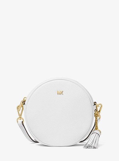 06ff4e60ad1970 Pebbled Leather Canteen Crossbody | Michael Kors