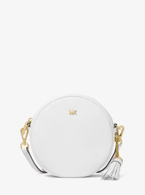 1b07ae0123c458 Pebbled Leather Canteen Crossbody | Michael Kors