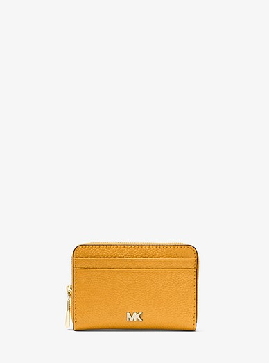 ba6f28ca09597 Small Pebbled Leather Wallet
