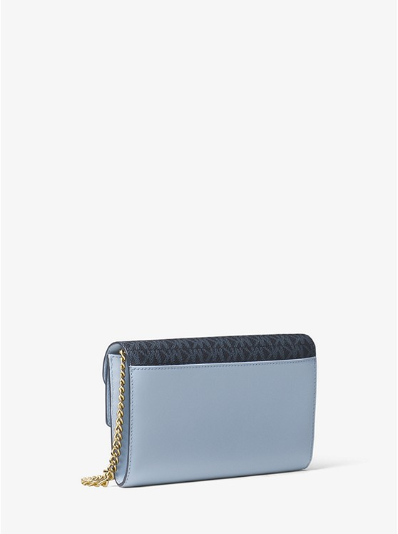0ee6c7ecbd7 ... Sloan Logo and Leather Chain Wallet ...