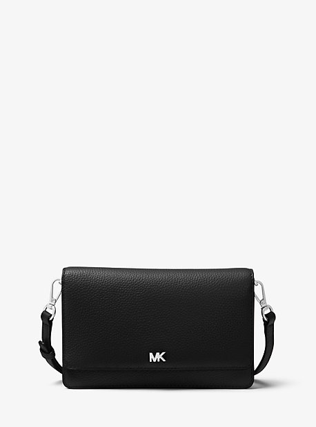 마이클 마이클 코어스 크로스바디백 Michael Michael Kors Pebbled Leather Convertible Crossbody Bag,BLACK