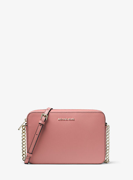 29282dd2481d Jet Set Large Saffiano Leather Crossbody Bag | Michael Kors