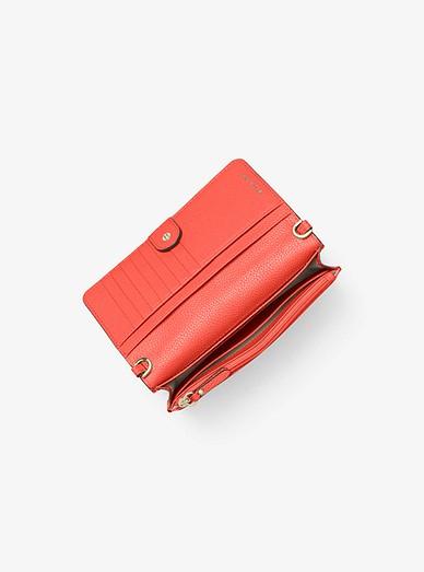 03b36f8b024d Pebbled Leather Convertible Crossbody Bag. Pebbled Leather Convertible  Crossbody Bag. MICHAEL Michael Kors