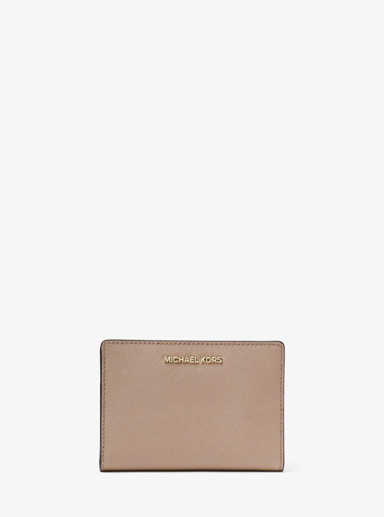 38d4b7a5b1538b Medium Saffiano Leather Slim Wallet Medium Saffiano Leather Slim Wallet ...