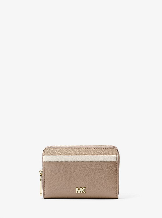 Mercer Small Color-block Pebbled Leather Wallet | Michael Kors