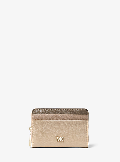 36cf350626df Mercer Small Color-Block Pebbled Leather Wallet · michael michael kors ...
