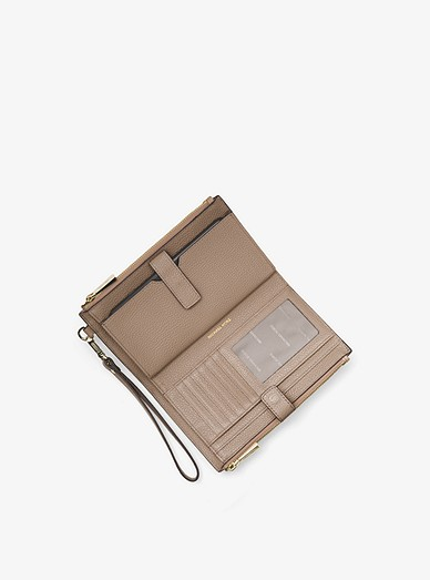 3dde8216bac3 Adele Pebbled Leather Smartphone Wallet. Adele Pebbled Leather Smartphone  Wallet. MICHAEL Michael Kors