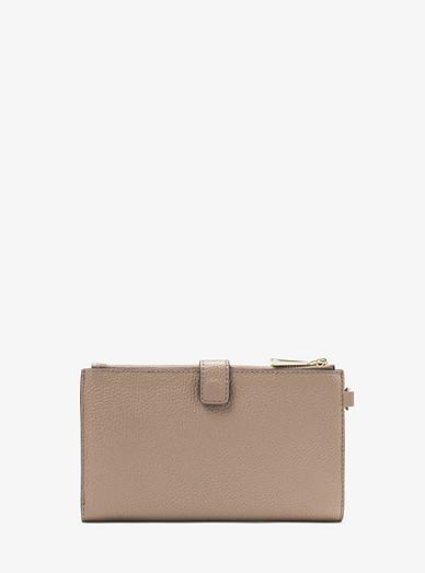 1d5ef4d2c2efc7 Adele Pebbled Leather Smartphone Wallet. MICHAEL Michael Kors