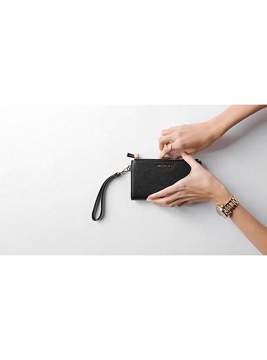 2c762f2dabd1 Adele Pebbled Leather Smartphone Wallet. MICHAEL Michael Kors