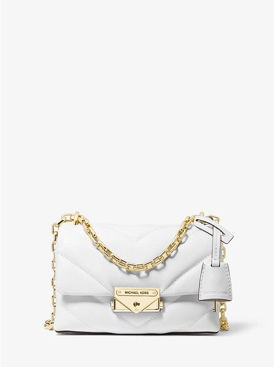 Cece Extra-Small Quilted Leather Crossbody Bag