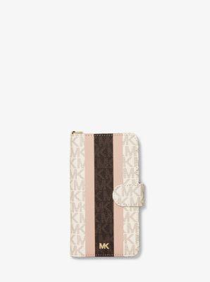 MICHAEL Michael Kors - Donna Custodia folio per iPhone X in pelle