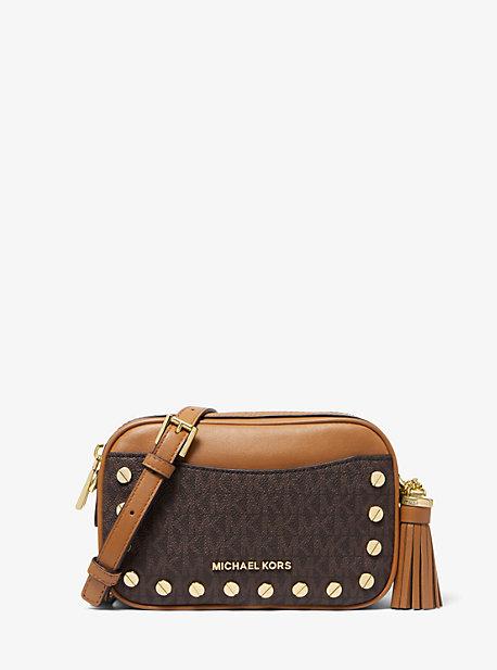 Studded Logo Convertible Belt Bag Michael Kors