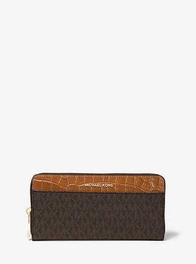1e6dd89a3a9b Logo Continental Wallet | Michael Kors