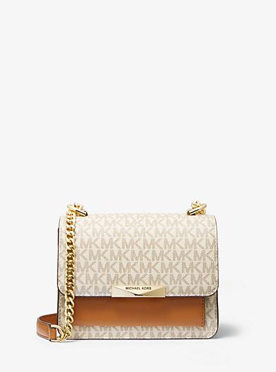 df5dfc7fd8 Mini sac à bandoulière Jade en cuir à logo