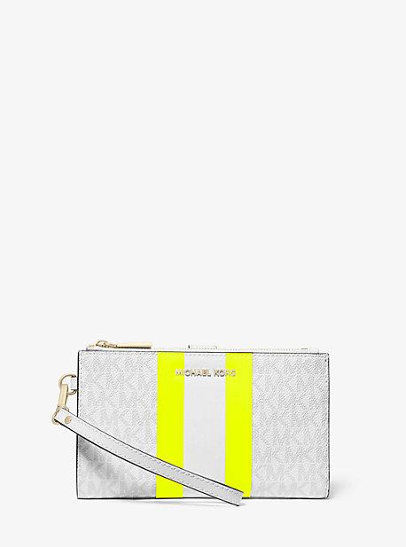 91c6dd2e Adele Logo Stripe Smartphone Wallet. michael michael kors · Adele Logo  Stripe Smartphone Wallet