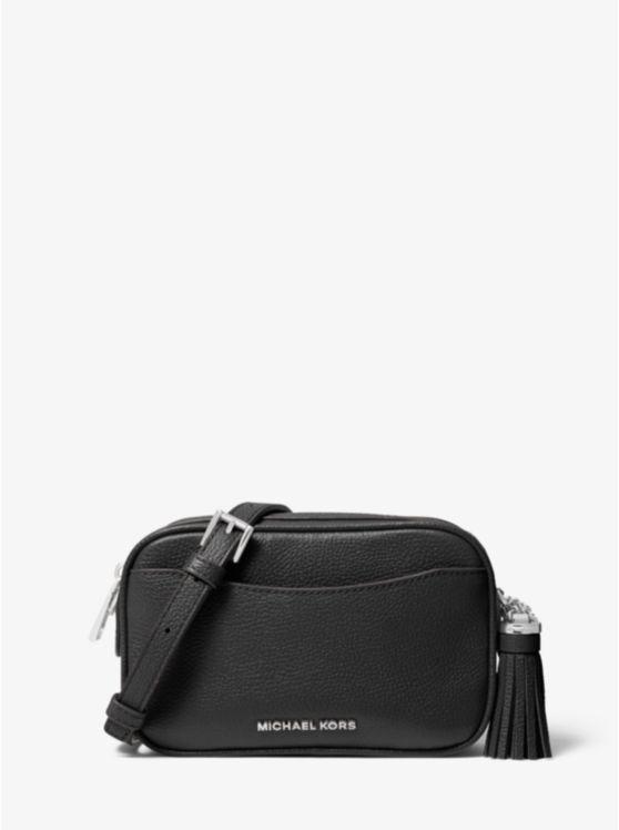Pebbled Leather Convertible Belt Bag