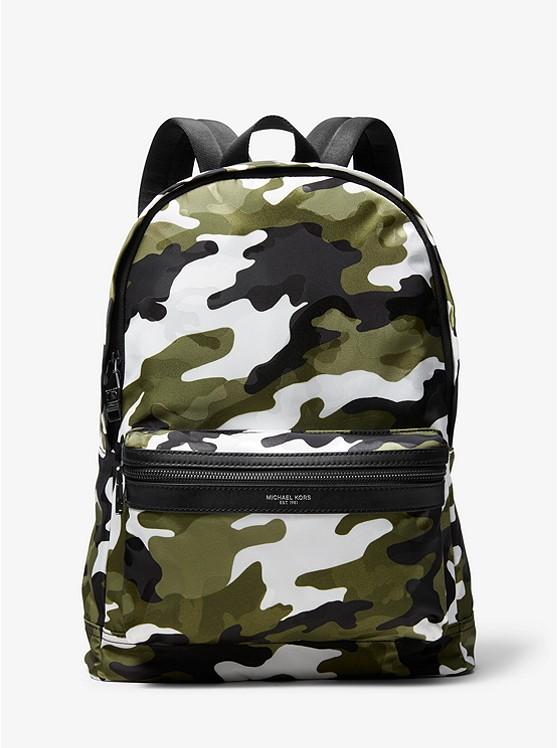 fdada7b8f9af Kent Camouflage Backpack | Michael Kors