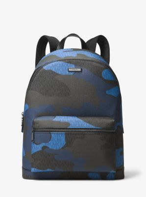Jet Set Logo And Camouflage Backpack