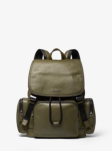 Henry Leather Backpack. michael kors ... a39176a21fcbd